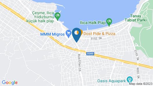 Hotel Egge Map