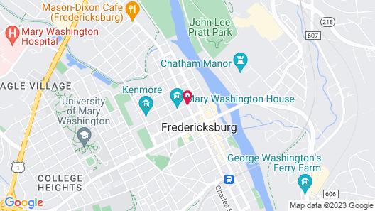 Kenmore Inn Map