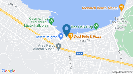 Destina Boutique Hotel Map