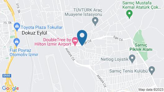 Ofuro World Hotel Spa Map