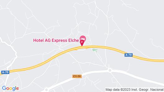 Hotel Sercotel AG Express Map