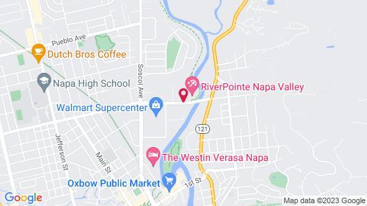 RiverPointe Napa Valley Resort Map
