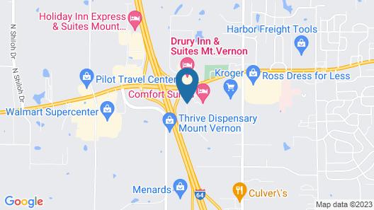 Americas Best Value Inn Map