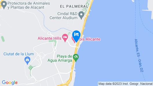ibis Alicante Map