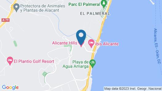 Apartamentos Alicante Hills Map