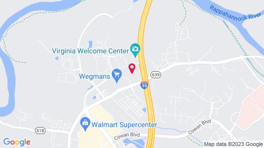Hilton Garden Inn Fredericksburg Map