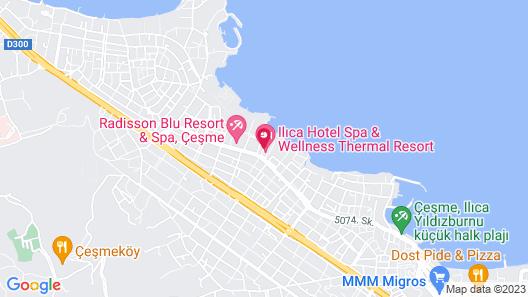İlica Hotel Spa & Wellness Thermal Resort Map