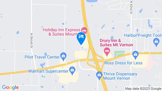 Fairfield Inn & Suites by Marriott Mt. Vernon Rend Lake Map
