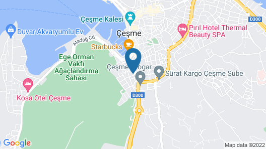 Cilek Marina Hotel Map