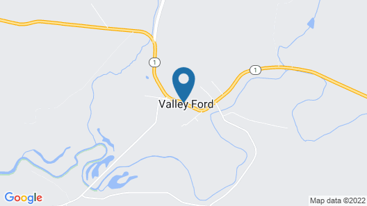 Valley Ford Hotel Map