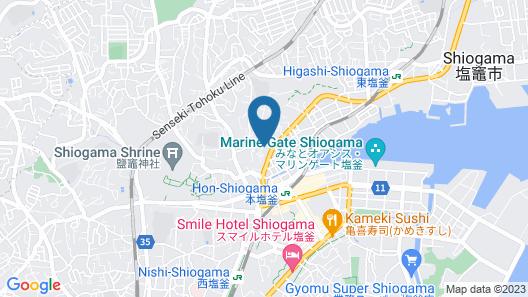 Shiogama Guesthouse Minatomaru - Hostel Map