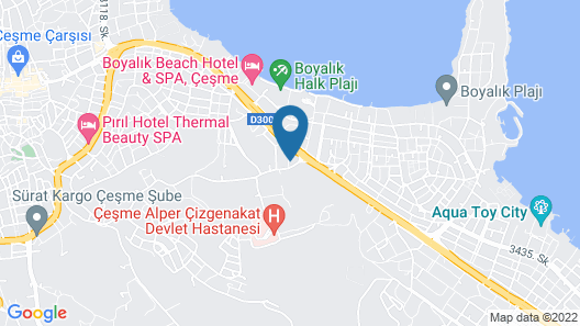 As Hotel Cesme Map