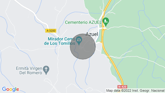 Amazing Home in Azuel, Córdoba w/ Wifi and 6 Bedrooms Map
