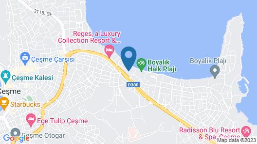 Boyalik Beach Hotel & Spa Map