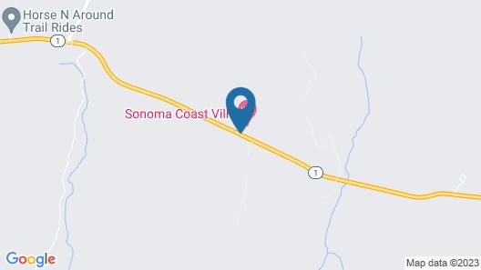 Sonoma Coast Villa Map