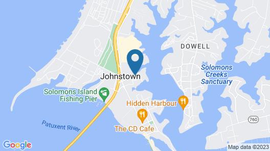 Quality Inn Solomons - Beacon Marina Map