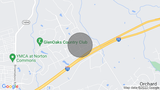 Elle's Old Kentucky Home Map