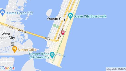 Plim Plaza Hotel Map