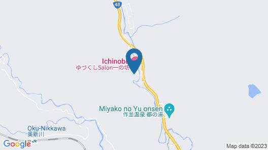 Yudukushi salon Ichinobo Map