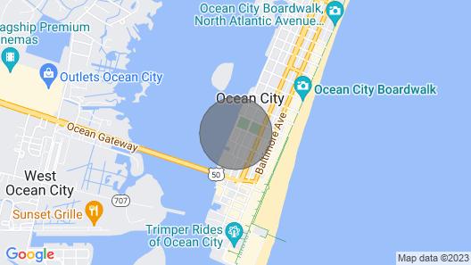 Direkte Buchtfront mit Offener Aussicht auf die Bucht und Sonnenuntergänge, Pool und 3 Blocks zum Strand / Promenade! Map