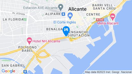 AC Hotel Alicante by Marriott Map