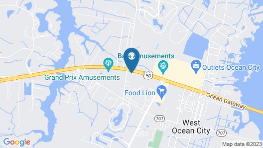 Microtel Inn & Suites by Wyndham Ocean City Map