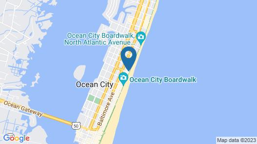 Ocean's Edge 402 Map
