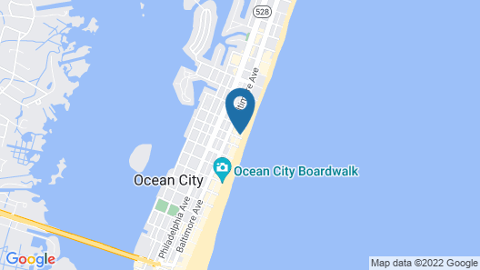 Hyatt Place Ocean City / Oceanfront Map