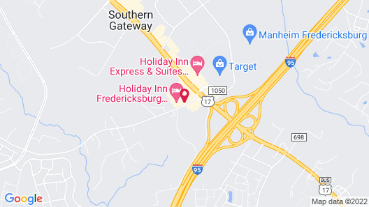 Holiday Inn Fredericksburg Conference Ctr, an IHG Hotel Map