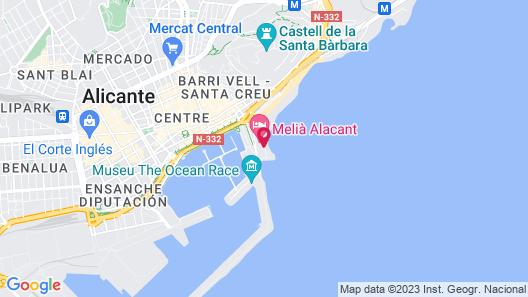 Hotel Spa Porta Maris by Melia Map