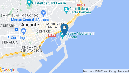Melia Alicante Map