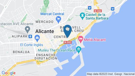 Hotel Alicante Gran Sol, Affiliated by Meliá Map