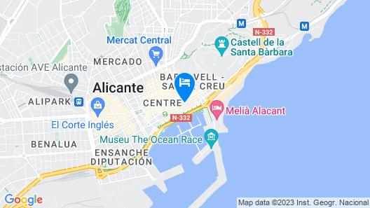 Hotel Hospes Amerigo Map