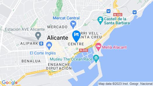 Palacio Salvetti Suites Map