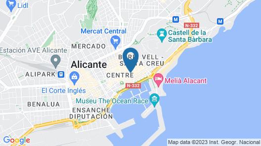 Hotel Méndez Núñez Map