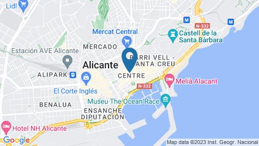 Apartamentos Bárbara 3 Map