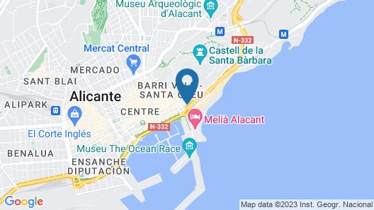 Apartamentos Rafael Lofts Map