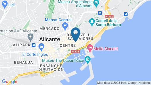 Amelia Habitaciones Map