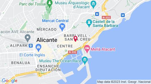 Apartamentos Tito San Nicolás Map