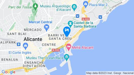 Apartamentos Boutique Villavieja Map