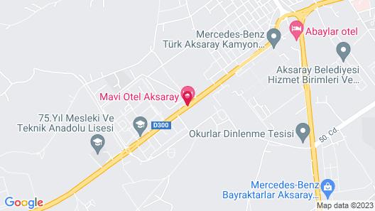 Mavi Otel Aksaray Map