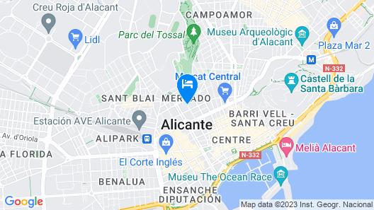 Hotel Leuka Map