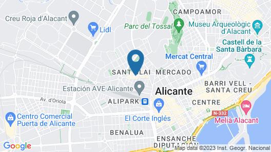 Chameleon Hostel Map
