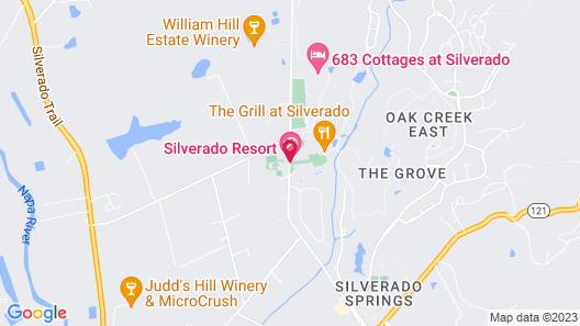 Silverado Resort and Spa, a Dolce by Wyndham Map