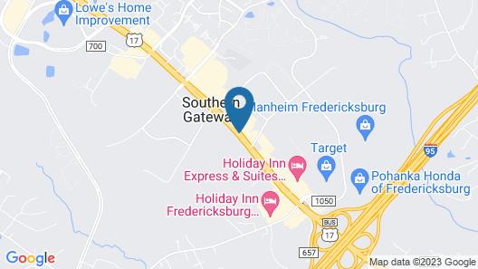 Country Inn & Suites by Radisson, Fredericksburg, VA Map