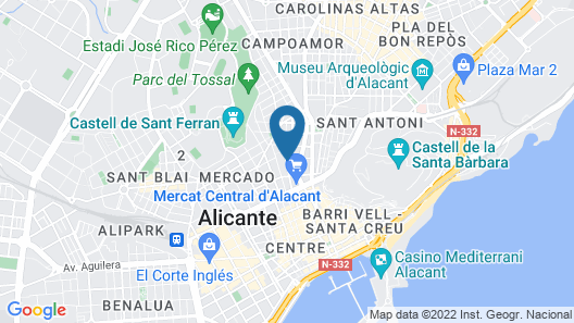 Hostal La Lonja Map