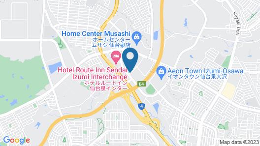 Smile Hotel Sendai Izumi IC Map