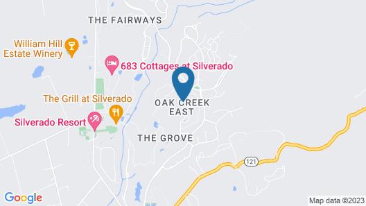 897 Oak Creek at Silverado Map