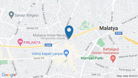Grand Akkoza Hotel Map