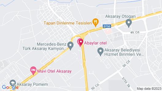Abaylar Hotel Map